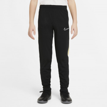 Pantalon survêtement junior Nike Academy noir or