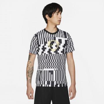 Maillot entraînement Nike Joga Bonito noir blanc