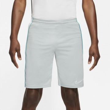 Short entraînement Nike Academy gris bleu