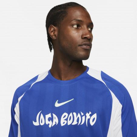 Maillot Nike F.C. Joga Bonito bleu blanc