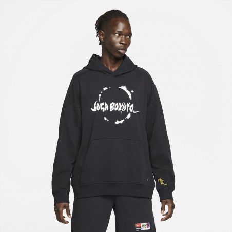 Sweat à capuche Nike Joga Bonito noir