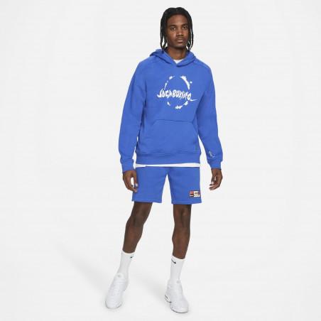 Sweat à capuche Nike Joga Bonito bleu