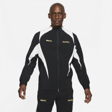 "Veste survêtement Nike ""Joga Bonito"" microfibre noir blanc"