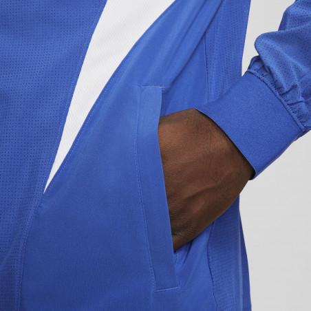 """Veste survêtement Nike """"Joga Bonito"""" microfibre bleu blanc"""