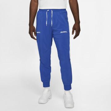 """Pantalon survêtement Nike """"Joga Bonito"""" microfibre bleu blanc"""