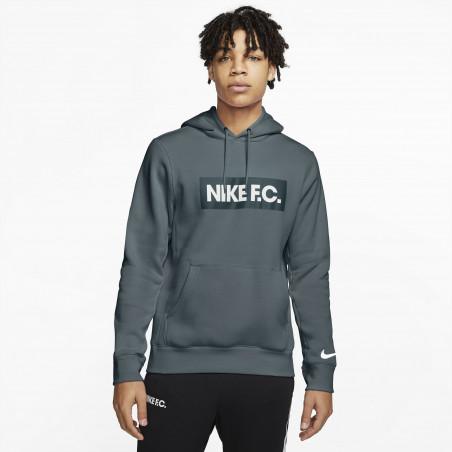 Sweat à capuche Nike F.C. vert