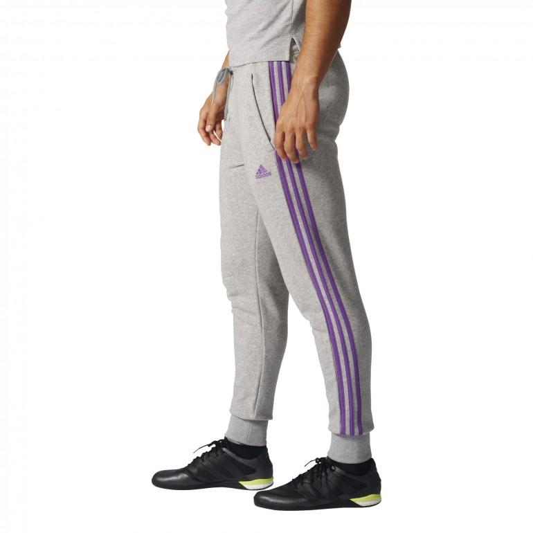 d96a0bea315 Pantalon Survêtement Real Madrid Gris bandes violettes sur Foot.fr