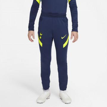 Pantalon survêtement junior Tottenham Strike bleu jaune 2021/22