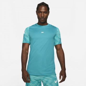 Maillot entraînement Nike Strike bleu vert