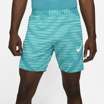 Short entrainement Nike Strike bleu vert
