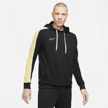 Sweat à capuche Nike Academy noir jaune