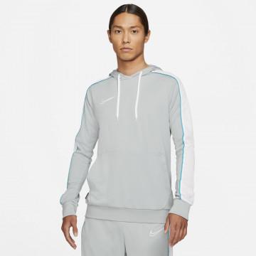 Sweat à capuche Nike Academy gris bleu