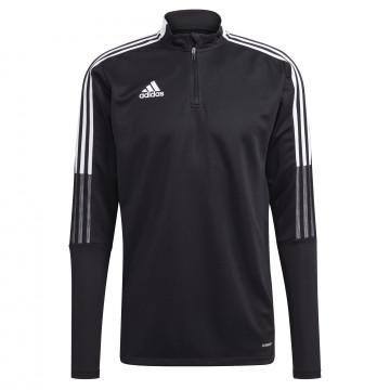 Sweat zippé adidas noir blanc