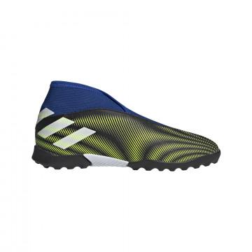 adidas Nemeziz.3 junior LaceLess Turf bleu jaune