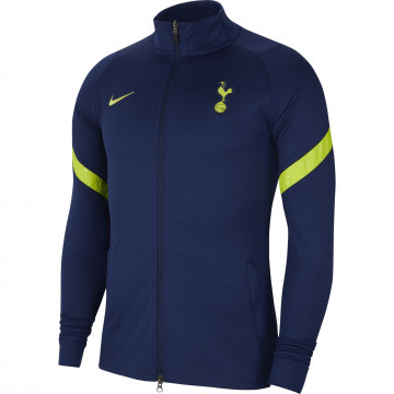 Veste survêtement Tottenham bleu jaune 2021/22