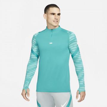 Sweat zippé Nike Strike bleu vert