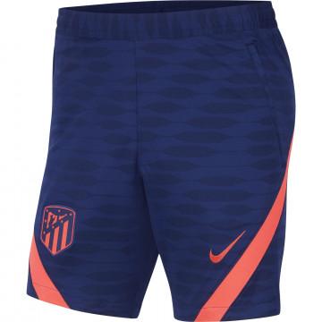 Short entraînement Atlético Madrid Strike bleu rouge 2021/22