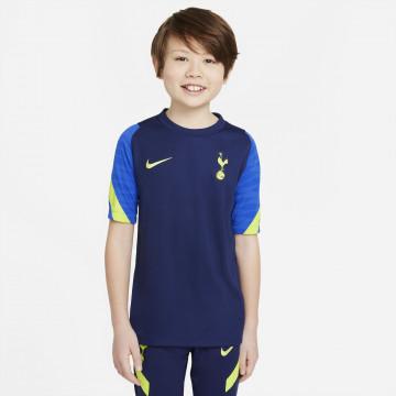Maillot entraînement junior Tottenham Strike bleu jaune 2021/22