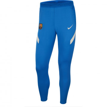 Pantalon survêtement FC Barcelone Strike bleu blanc 2021/22