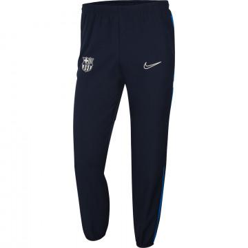 Pantalon survêtement FC Barcelone Woven bleu 2021/22