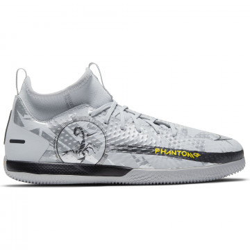 Nike Phantom Scorpion junior montante Academy Indoor gris