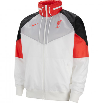 Veste imperméable Liverpool gris rouge 2020/21