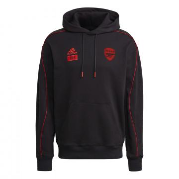 Sweat à capuche Arsenal x 424 Edition Limitée noir rouge