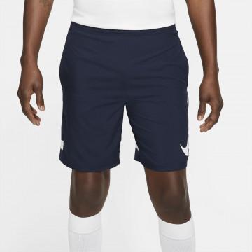Short entraînement Nike Academy GX bleu blanc