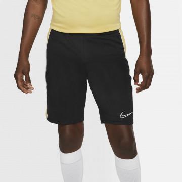 Short entraînement Nike Academy noir or