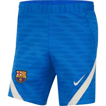 Short entraînement FC Barcelone Strike bleu blanc 2021/22