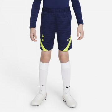 Short entraînement junior Tottenham Strike bleu jaune 2021/22