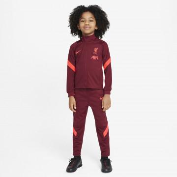 Ensemble survêtement junior Liverpool rouge 2021/22