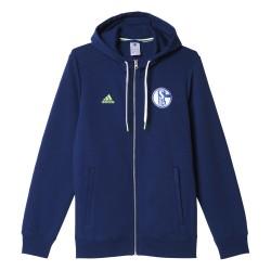 Veste survêtement Schalke 04 bleu 2016 - 2017