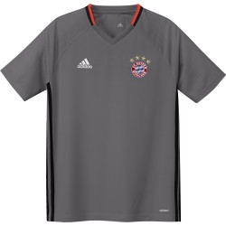 Maillot entraînement junior Bayern Munich gris 2016 - 2017