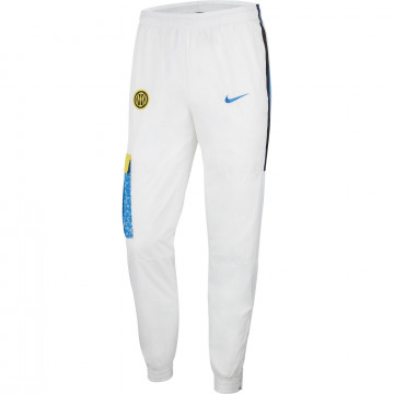 Pantalon survêtement Inter Milan blanc 2020/21