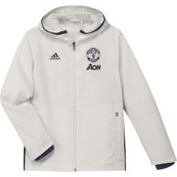 Veste avant-match junior Manchester United blanche 2016 - 2017