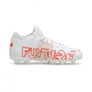 Puma Future Z junior 4.1 FG/AG blanc