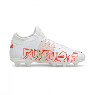 Puma Future Z junior 4.1 FG/AG blanc