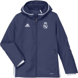 Veste Survêtement Junior Real Madrid Bleue 2016 - 2017