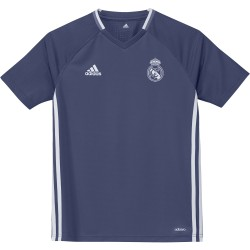 Maillot entraînement junior Real Madrid bleu 2016 - 2017