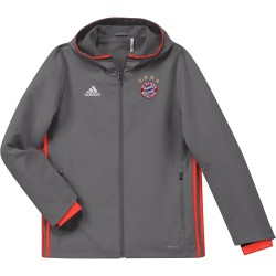 Veste avant-match junior Bayern Munich grise 2016 - 2017