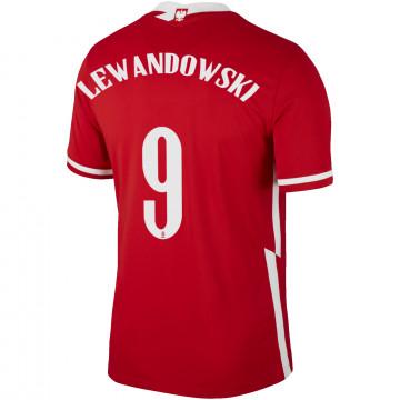 Maillot Lewandowski Pologne extérieur 2020