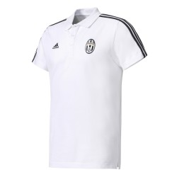 Polo Juventus Blanc bandes noires
