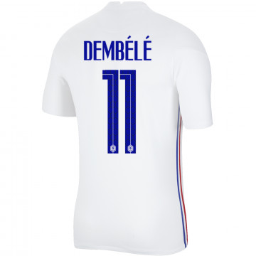 Maillot Dembélé Equipe de France extérieur 2020