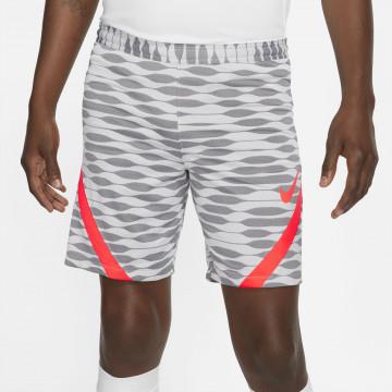 Short entraînement Nike Strike gris rouge 2021/22