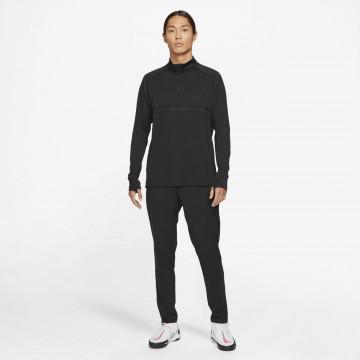Sweat zippé Nike Academy noir 2021/22
