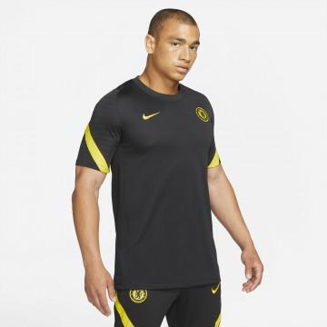 Maillot entraînement Chelsea noir jaune 2021/22
