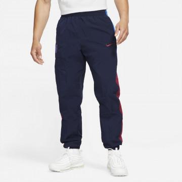 Pantalon survêtement FC Barcelone Woven bleu rouge 2021/22