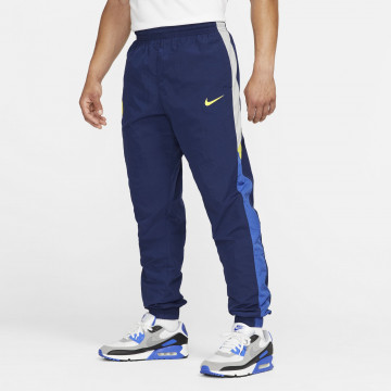 Pantalon survêtement Chelsea molleton bleu jaune 2021/22
