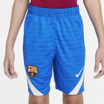 Short entraînement junior FC Barcelone bleu 2021/22